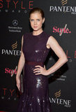 Amy Adams arrived at the Style Awards in NYC.