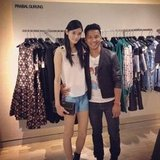 Prabal Gurung was one of the famous designers who stopped by Bergdorfs for their FNO events in Manhattan. Source: Instagram user prabalgurung