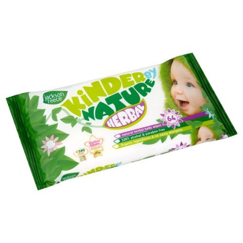 Jackson Reece Herbal Baby Wipes (72 count for $5)
