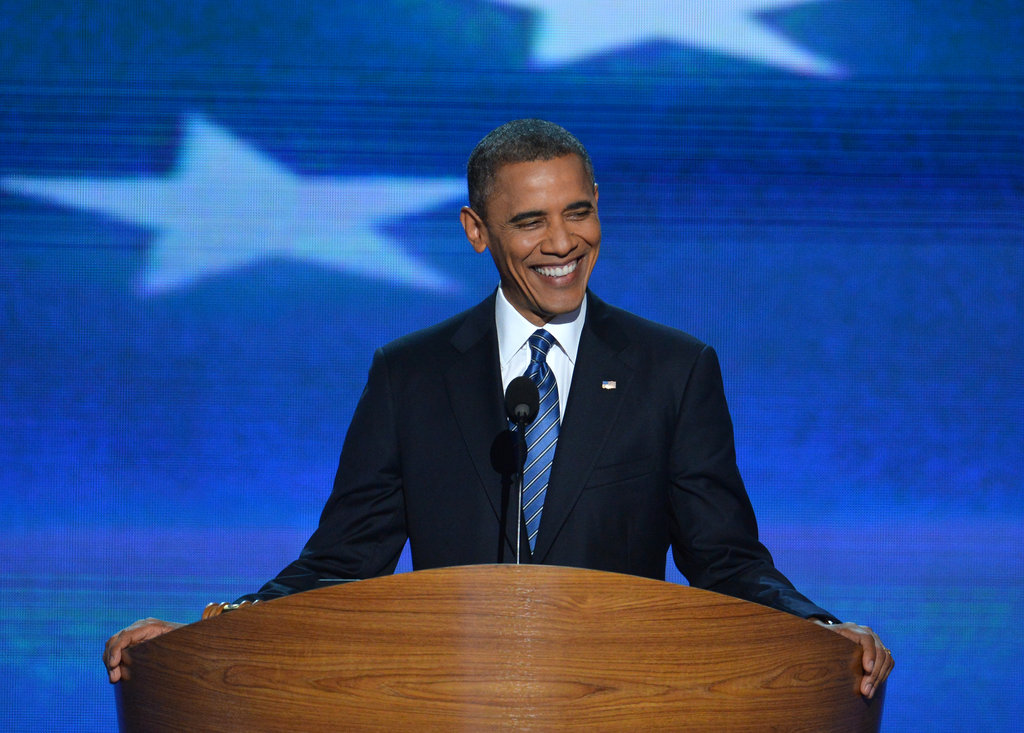 Obama Asks Voters to Keep America Moving Forward