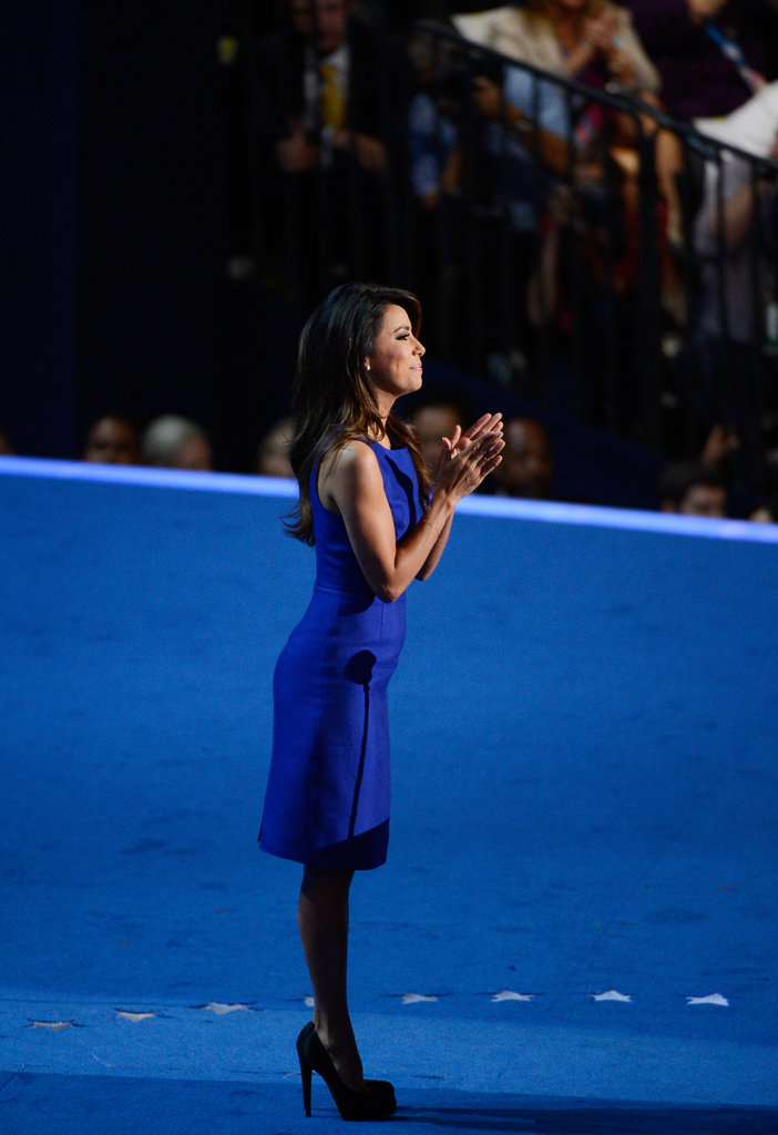 Eva Longoria Talks Obama's Record