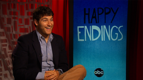 Video: Happy Endings' Adam Pally Reveals His Celebrity Man Crush