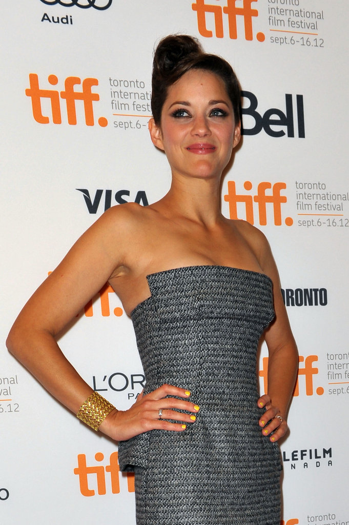 TIFF on the Scene: Marion Cotillard Shows Off Emotional Rust and Bone