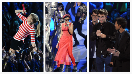 Video: VMA Highlights — See Rob Mingle With Team USA's Winning Women!