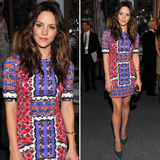Shop similar pieces to Katharine McPhee's standout, must-mimic look from the Style Awards.