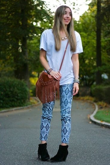 Congrats, sorelle in style!  We love your bohemian-cool style!
