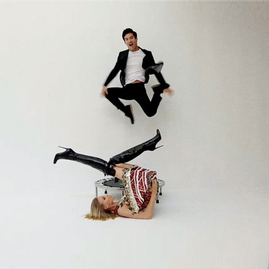Who Knew? Joseph Altuzarra and Alexander Wang Sure Can Jump