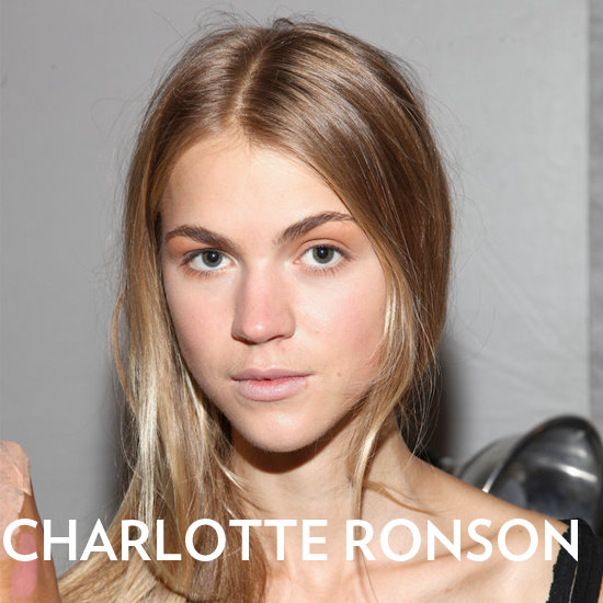 Why Charlotte Ronson's Runway Hair Bends, Not Curls