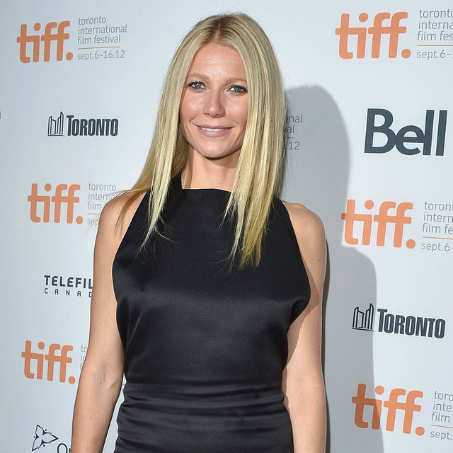 Gwyneth Paltrow in a Black Dress at TIFF