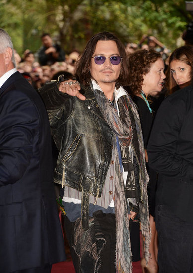 Johnny Depp Talks Tattoos as He Supports West of Memphis at TIFF