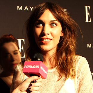 Alexa Chung Fashion Week Interview | September 2012