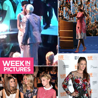 Pictures Of The Week: Michelle Obama, Kristen Stewart, Rihanna & Chris Kiss & More