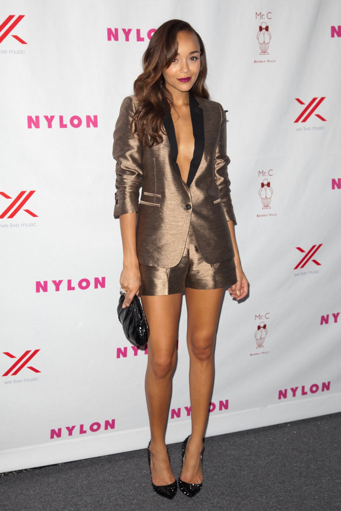 Ashley Madekwe toasted Nylon.