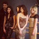 The Spring Breakers cast posed for a photo at the Toronto International Film Festival. Source: Instagram user itsashbenzo