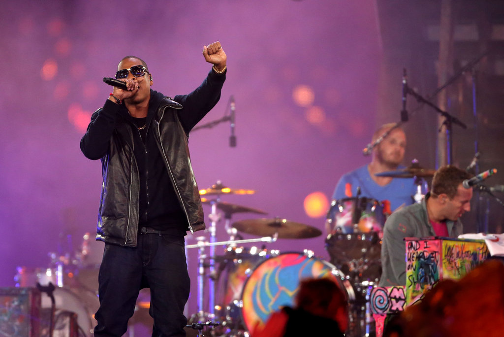 Jay-Z performed for the Paralympics closing ceremony.