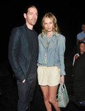 Kate Bosworth and Michael Polish arrived at the show together.