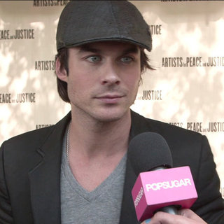 Ian Somerhalder at Toronto International Film Festival (Video)