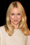 Naomi Watts wore white.