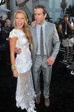 Blake Lively and Ryan Reynolds had fun promoting Green Lantern in June 2011.