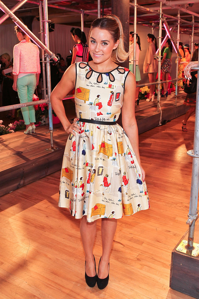 Lauren Conrad at Kate Spade.