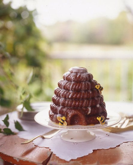 Honey-Glazed Beehive Cake