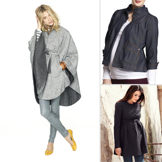 8 Super-Chic Lightweight Fall Maternity Jackets