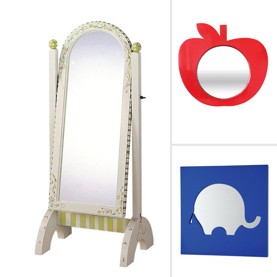 Mirrors for kid rooms popsugar moms for Mirrors for kids rooms