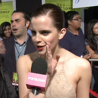 Emma Watson at The Perks of Being a Wallflower LA Premiere