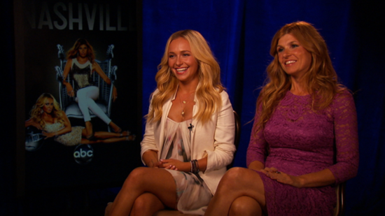 Video: Connie Britton and Hayden Panettiere Say Nashville Isn't All About Catfights