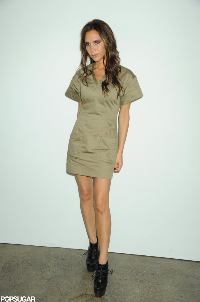 Victoria Beckham hung out at NYFW.