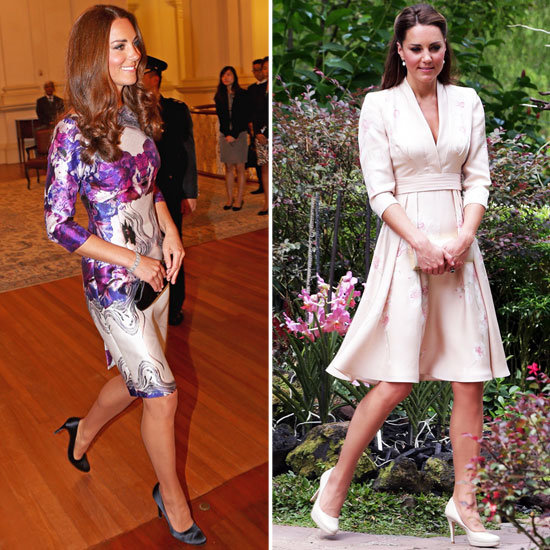 Kate Middleton Does Florals, the Prabal Gurung and Jenny Packham Way