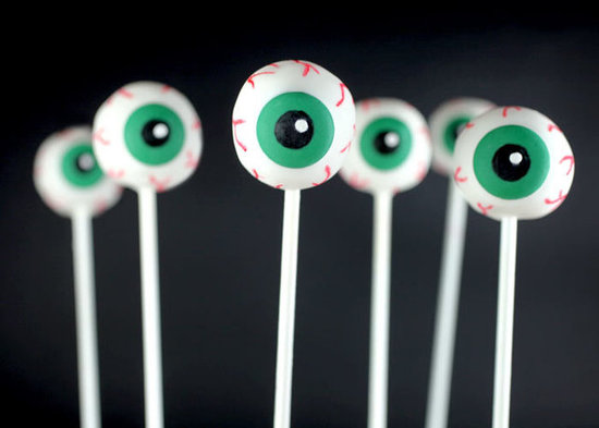 Eyeball Cake Pops