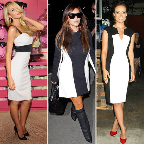 Black and White Dresses (Celebrity Pictures and Shopping)