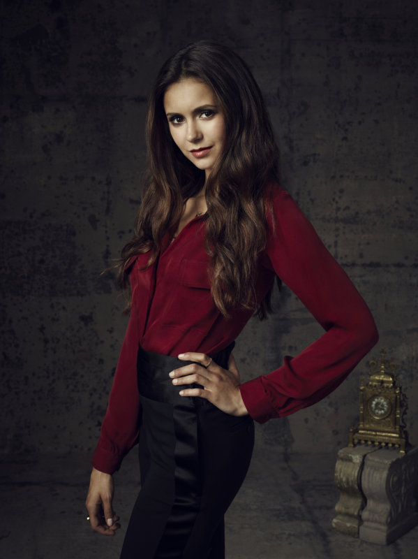 Nina Dobrev as Elena on season four of The Vampire Diaries.