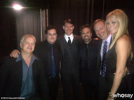 Gwyneth Paltrow posed for a photo at the Toronto International Film Festival. Source: Gwyneth Paltrow on Who Say