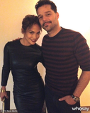 Jennifer Lopez caught Ricky Martin in Broadway's Evita. Source: Ricky Martin on WhoSay
