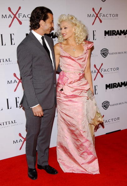 Gwen Stefani and Gavin Rossdale were all smiles on the red carpet at The Aviator LA premiere in December 2004.