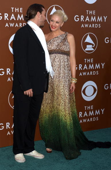Gavin Rossdale and Gwen Stefani hit the red carpet together for the Grammys in February 2006.