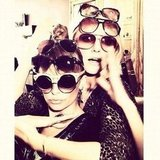 Nicole Richie overaccessorized. Source: Instagram user nicolerichie