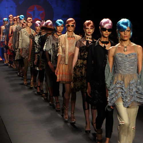 Anna Sui Spring 2013 Runway Show (Video)