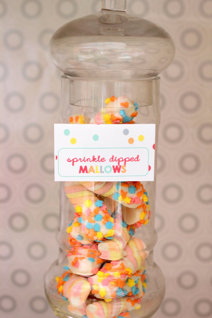 Sprinkle-Dipped Marshmallows