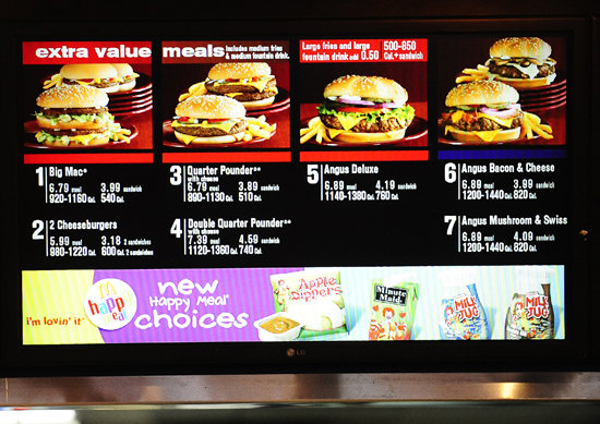 locations york city philadelphia california required calorie counts posted mcdonalds