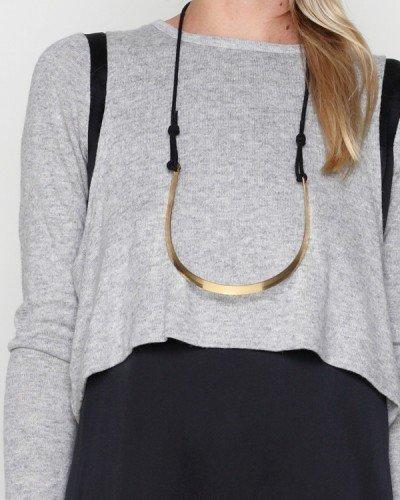Funktional / Silk Shoulder Crop Dress