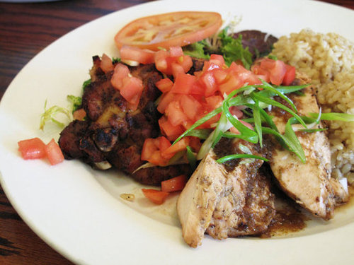 Jerk Chicken Plate