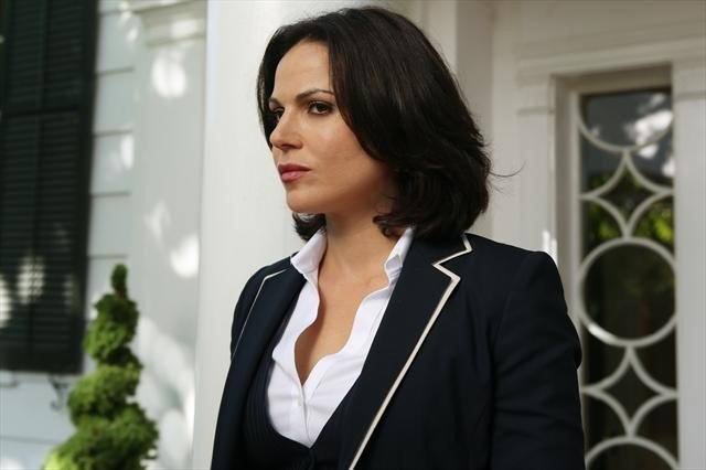 Regina looks rattled — an unusual state for her.