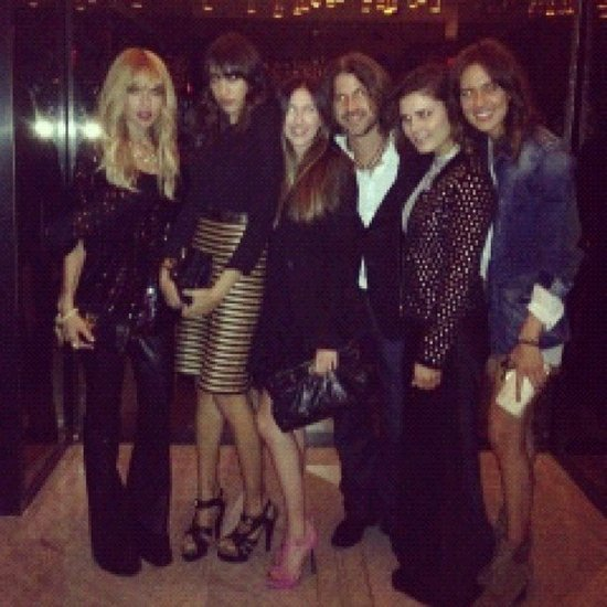 Rachel Zoe celebrated the success of her show during a night out with her team. Source: Instagram user rachelzoe