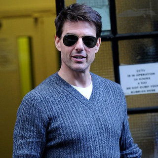 Tom Cruise Leaving Meeting in London | Pictures