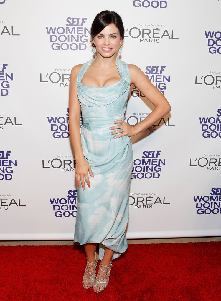 Jenna Dewan hit the red carpet for the Self magazine Women Doing Good Awards in NYC.