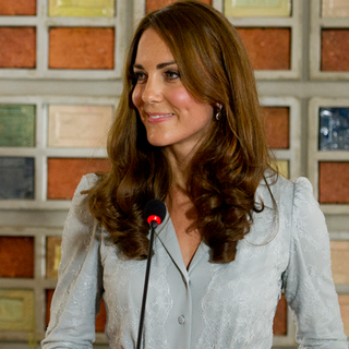 Kate Middleton Gives Her First Speech Abroad (Video)