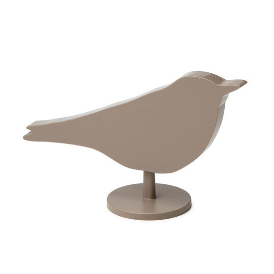 If you're looking for something that blends into your decor, then the Bird Alarm Clock ($40) from Uncommon Goods is ideal: the digital face is hidden on the alarm's backside.